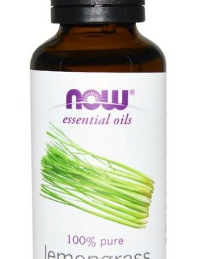 organic essential oils  lemongrass 30 ml   now foods1 300x375 - Organic Essential Oils- Lemongrass (30 ml) - Now Foods