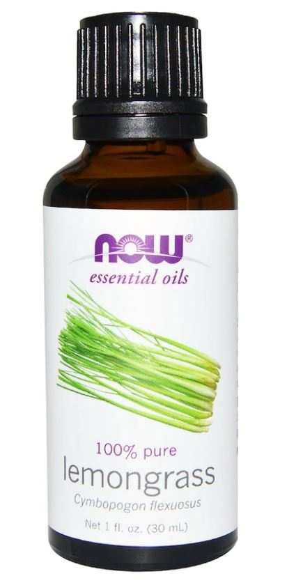 organic essential oils  lemongrass 30 ml   now foods1 - Organic Essential Oils- Lemongrass (30 ml) - Now Foods