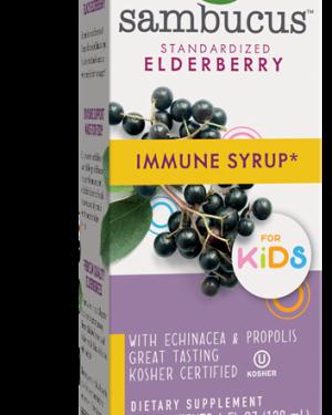 original sambucus for kids elderberry 240 ml   nature s way1 300x375 - Original Sambucus For Kids, Elderberry (240 ml) - Nature's Way