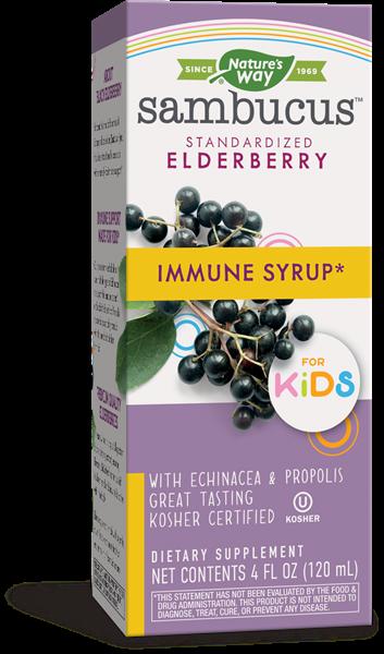 original sambucus for kids elderberry 240 ml   nature s way1 - Original Sambucus For Kids, Elderberry (240 ml) - Nature's Way
