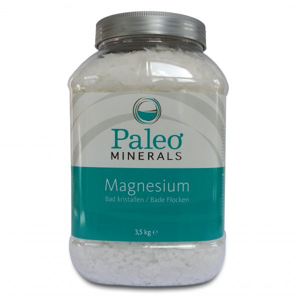 paleo magnesium2 1 600x600 - Magnesium Bad vlokken (1500 gram) - Paleo Minerals