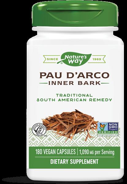 pau d arco binnenste schors 545 mg 180 capsules   nature s way1 - Pau d'Arco binnenste schors 545 mg (180 Capsules) - Nature's Way