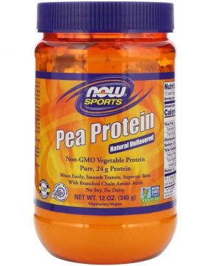 pea protein   natural unflavored 340 gram   now foods1 300x375 - Pea Protein - Natural Unflavored (340 gram) - Now Foods