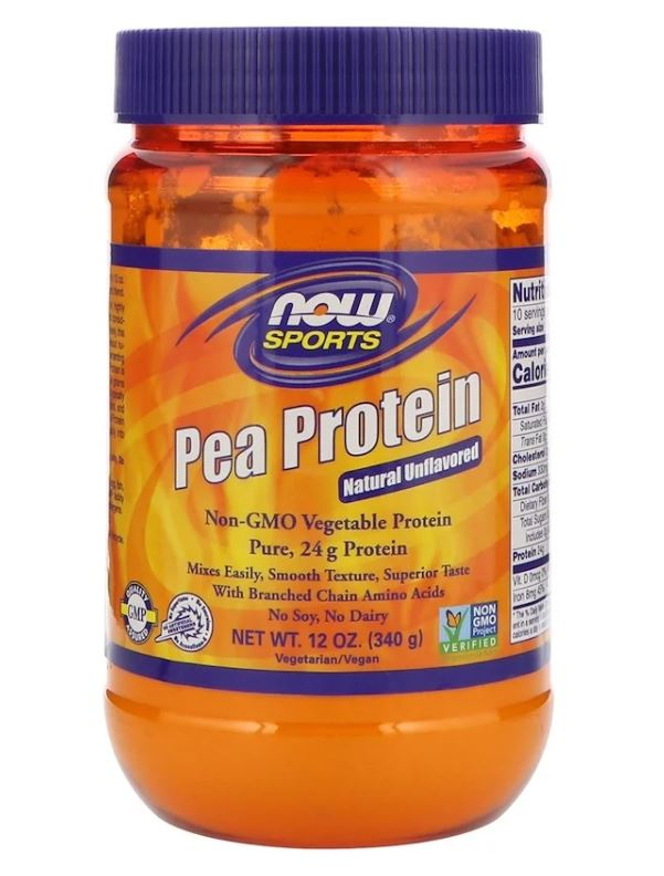 pea protein   natural unflavored 340 gram   now foods1 - Pea Protein - Natural Unflavored (340 gram) - Now Foods