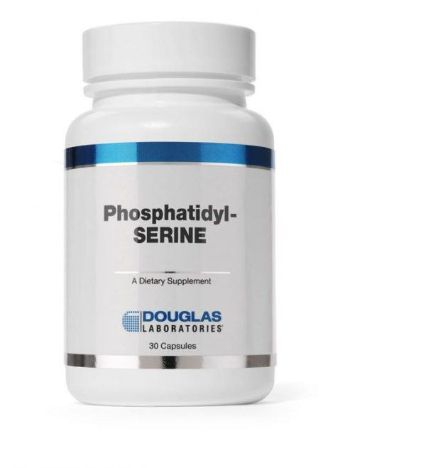 phosphatidyl serine caps 60 capsules douglas laboratories 600x659 - Fosfatidyl Serine Caps (60 capsules) - Douglas Laboratories