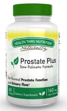 prostate plus complex wlycored lycopene 60 softgels   health thru nutrition - Saw Palmetto - Lycopene - Beta Sitosterol Extract (60 Softgels) - Health Thru Nutrition