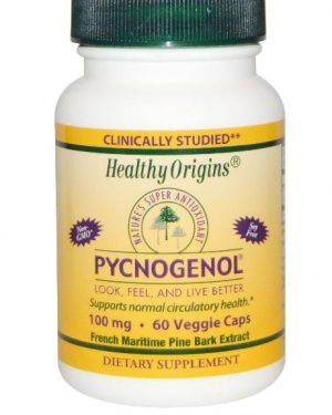 pycnogenol healthy origins 1 300x375 - Pycnogenol 0 mg (60 VEG capsules)-gezonde oorsprong