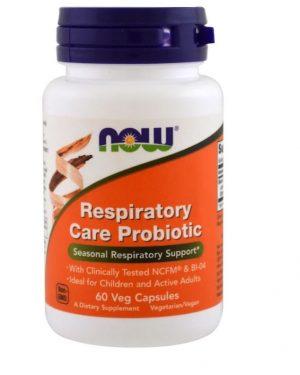 respiratory care probiotic 60 vegetarian capsules   now foods1 300x375 - Respiratory Care Probiotic (60 Vegetarian Capsules) - Now Foods