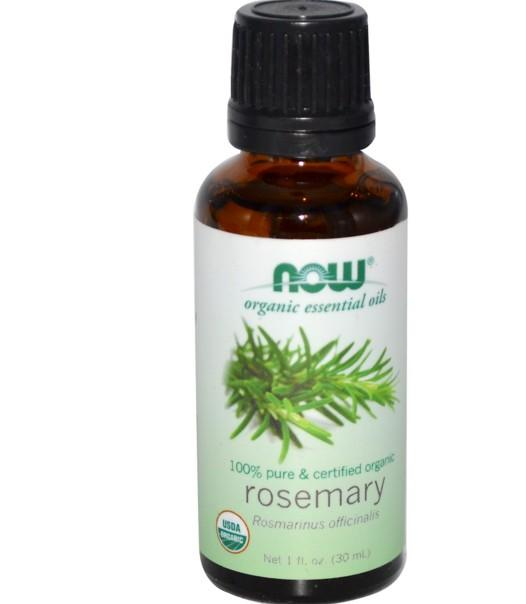 rosemary now foods essential oil organic 1 - Biologische etherische olie rozemarijn (30 ml) - Now Foods