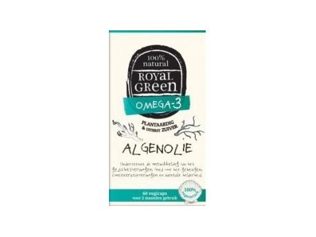 royal green algenolie 60vc - Algae Oil (60 vcaps) - Royal Green
