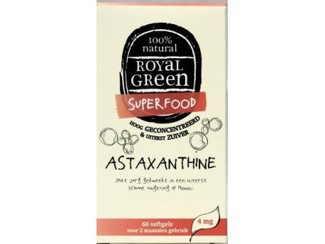 royal green astaxanthine 60sft - Astaxanthine (60 softgels) - Royal Green