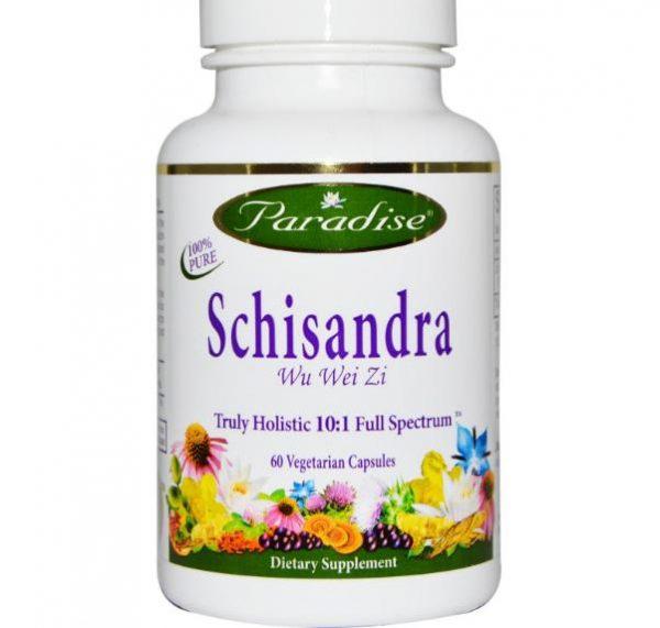 schisandra paradise herbs 1 600x571 - Schisandra (60 Veggie Caps) - Paradise Herbs