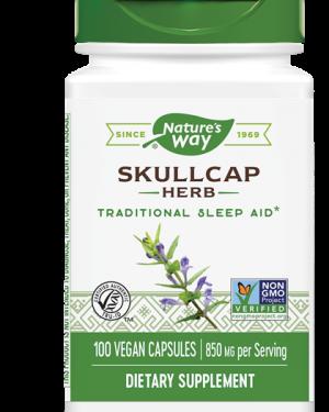 scullcap kruid 425 mg 100 capsules   nature s way1 300x375 - SCULLCAP kruiderij 425 mg (100 Capsules) - Nature's Way
