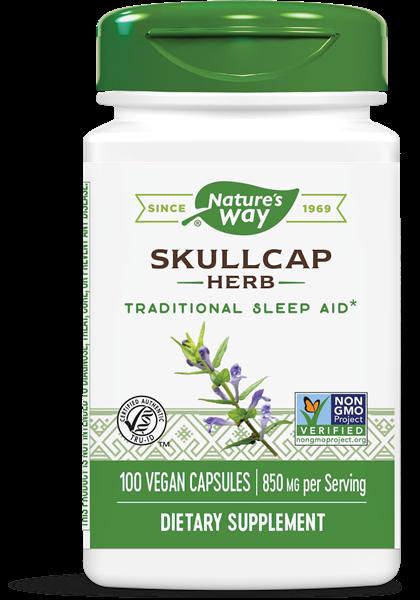 scullcap kruid 425 mg 100 capsules   nature s way1 - SCULLCAP kruiderij 425 mg (100 Capsules) - Nature's Way