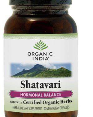 shatavari 90 veggie caps organic india 300x375 - Shatavari (90 Veggie Caps) - Organic India