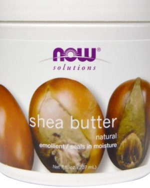 shea butter now foods 1 300x375 - Shea boter (207 ml) - Now Foods