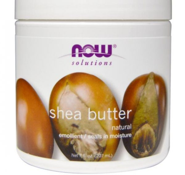shea butter now foods 1 600x570 - Shea boter (207 ml) - Now Foods