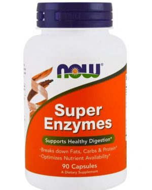 super enzymes 90 capsules   now foods1 300x375 - Super Enzymes (90 capsules) - Now Foods