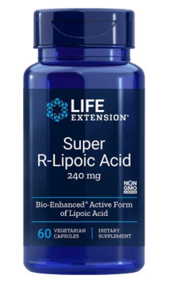 super r lipoic acid 240 mg 60 veg capsules 1 - Super R-Lipon Zuur, 240 mg (60 Veggie Caps) - Life Extension