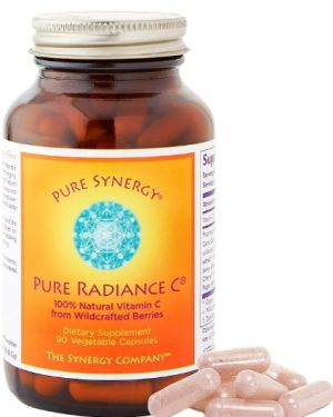synergy pureradiancec 1 300x375 - Pure Radiance C (90 Veggie Caps) - The Synergy Company