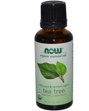 tea tree essential oil now foods.1 300x375 - Biologische essentiële olie - Tea Tree (30 ml) - Now Foods