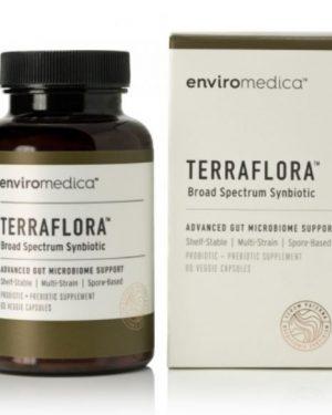 terraflora 300x375 - Terraflora Synbiotica (60 capsules)-EnviroMedica