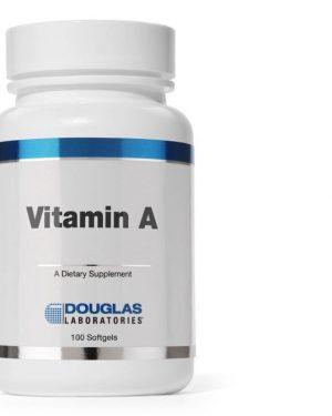 vitamin a 4000 ui av1 douglas laboratories 300x375 - Vitamine A 4000 IU - 100 vegetarische capsules - Douglas laboratories