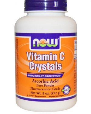 vitamin c crystals now foods 1 300x375 - Vitamine C Kristalpoeder (227 gram) - Now Foods