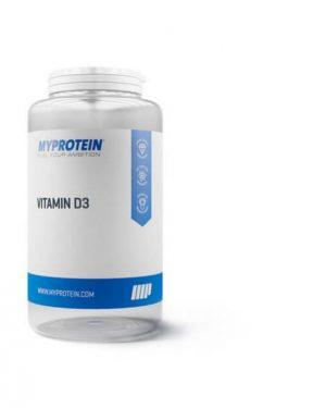 vitamin d3 capsules myprotein 300x375 - Vitamine D3 - 180 Capsules- MyProtein