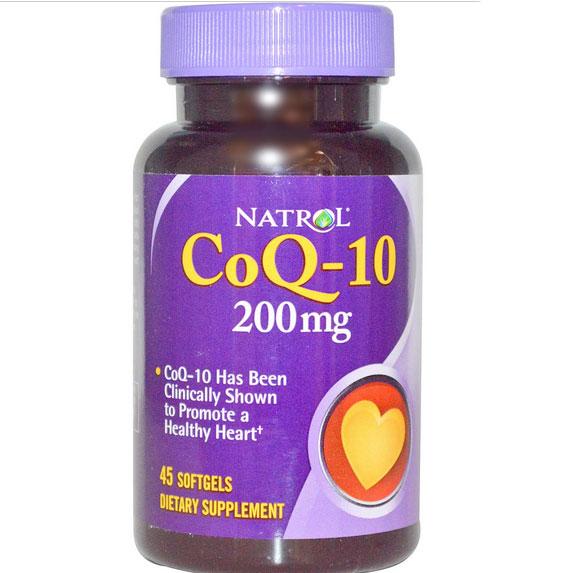 vv 18 - Co-Q10 200 mg (45 gelcapsules) - Natrol