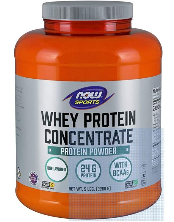whey protein concentrate   natural unflavored 2268 gram   now foods1 600x767 - Whey Protein Concentrate - Natural Unflavored (2268 gram) - Now Foods