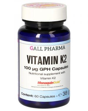 4191149 Vitamin K2 100 µg GPH Capsules 60 ST 1 300x375 - Vitamin K2 100 µg GPH (60 Capsules) - Gall Pharma GmbH