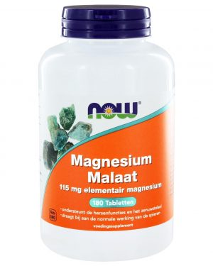 6516 300x375 - Magnesium Malaat 150 mg (180 tabs) - NOW Foods