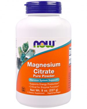 NOW 01295 9 1 300x375 - Magnesium Citrate Pure Powder (227 gram) - Now Foods