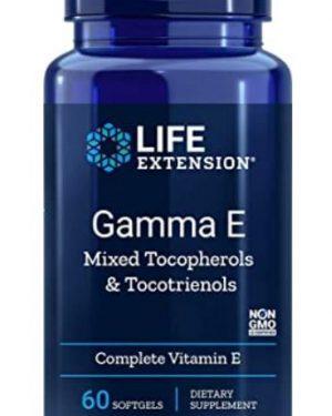 gamma e mixed tocopherols1 300x375 - Gamma E Mixed Tocopherols (60 Softgels) - Life Extension