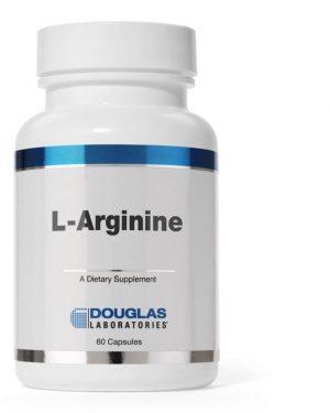 l arginine 500mg 60 capsules douglas laboratories 8713975909323 capsules 300x375 - L-Arginine 500 mg (60 capsules) - Douglas Laboratories