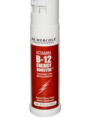 mercola vitamin b12 spray 1 300x375 - Vitamine B12 Energie Booster Bessensmaak (25 ml) - Dr. Mercola